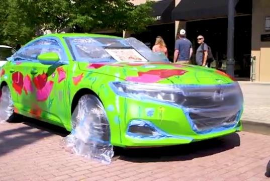 Picture for West Michigan Honda Dealers kicks off their Design & Drive display at ArtPrize