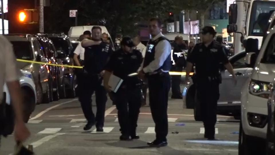 Picture for 10 people shot in front of North Corona, Queens laundromat