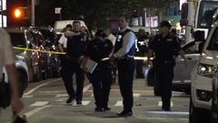 Cover for 10 people shot in front of North Corona, Queens laundromat