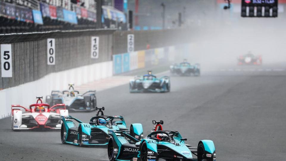 Picture for Formula E: Britain's Jake Dennis and Alex Lynn charge their way to success in Valencia