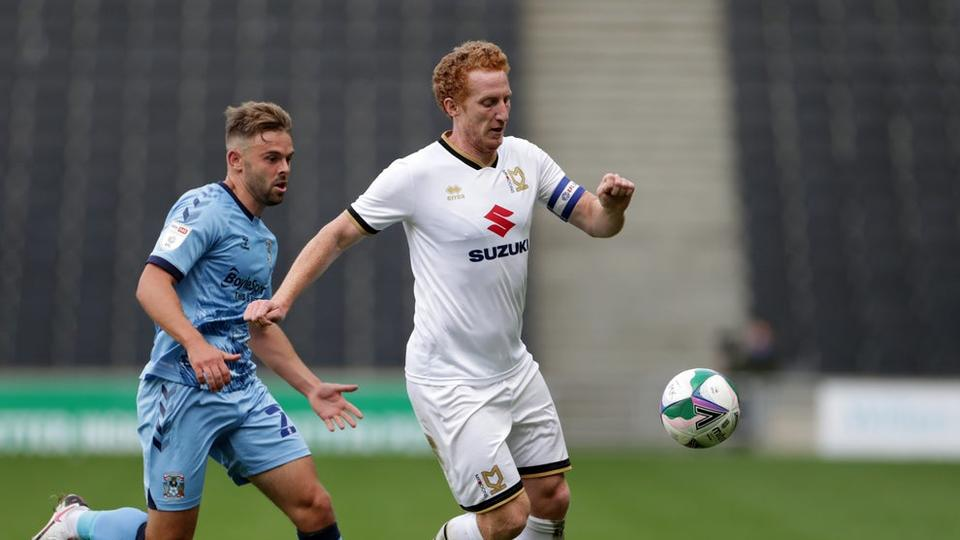 Picture for Dean Lewington signs up for an 18th season with MK Dons