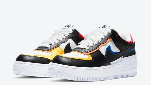 Nike Air Force 1 Shadow Launching With Multicolor Details News Break Wmns air force 1 shadow 'white crimson blue'. nike air force 1 shadow launching with