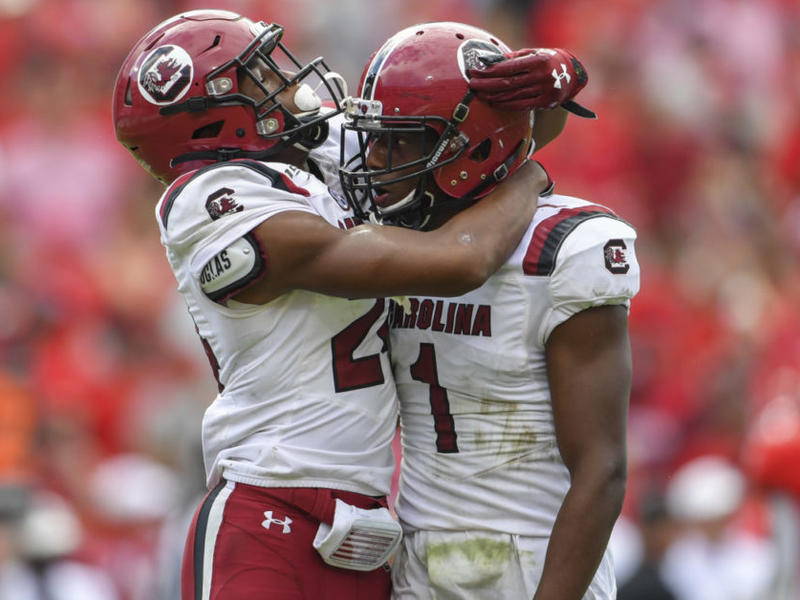 South Carolina QB Ryan Hilinski praises top CB tandem ...
