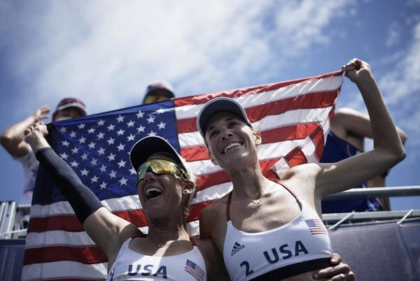 Picture for A Fairy Tale Ending For U.S. Women's Beach Volleyball As They Take Olympic Gold