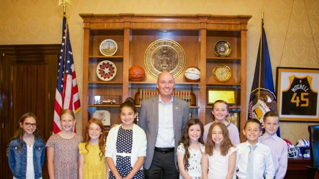 Picture for Civic engagement program aims to inspire Utah students to get involved with politics