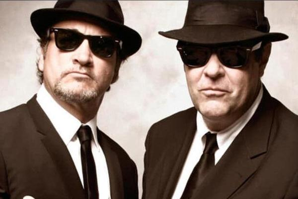 Picture for On a mission: Dan Aykroyd and Jim Belushi stopping at Stillwater's Bud Brothers dispensary to promote cannabis product