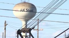 Cover for Plans confirmed to demolish AK Steel site