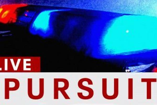 Picture for CHP in pursuit of a vehicle in Granada Hills area