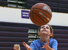 Picture for Young hoopers bring enthusiasm to Blair clinic