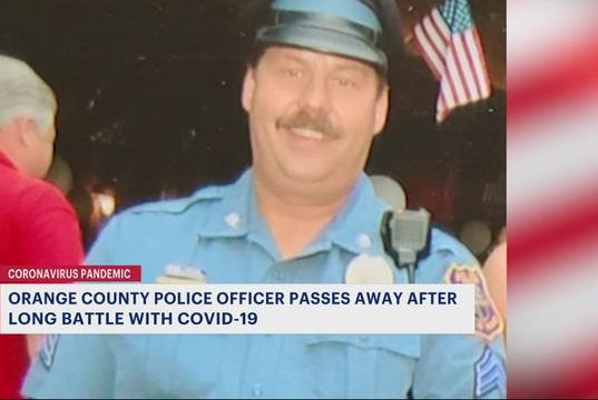 Picture for Orange County police officer dies from complications from COVID-19