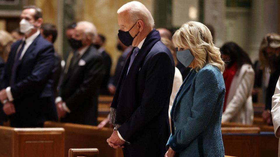 Picture for Catholic bishops advance effort that could deny Biden communion