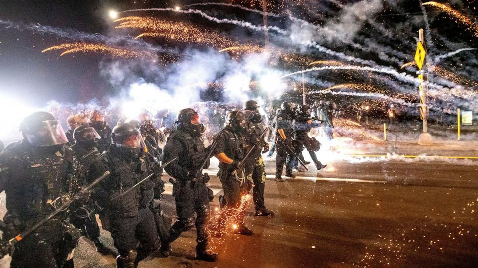 Picture for Officers resign from Portland, Oregon, protest response unit