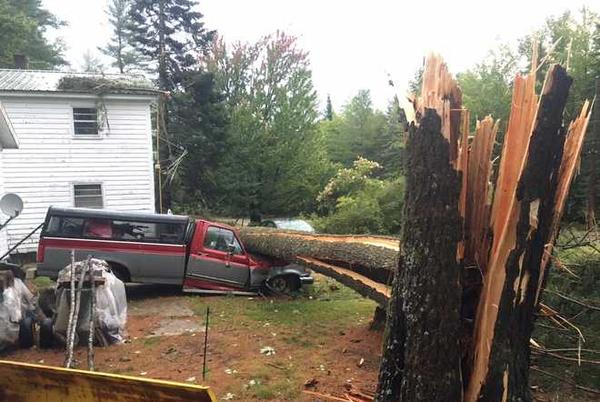 Picture for Severe storms leave thousands without power, funnel cloud reported