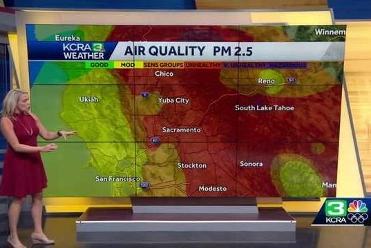 Picture for Wildfire smoke continues in the Sacramento region: Track air quality where you live
