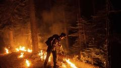Cover for Rash of California wildfires sparked by lightning stresses resources