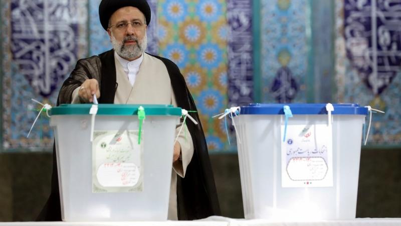 Picture for Hardline judge poised for Iran presidency in landslide election win