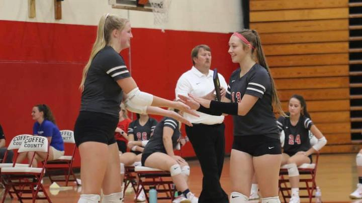 Cover for VOLLEYBALL: Lady Raiders remain unbeaten in district play