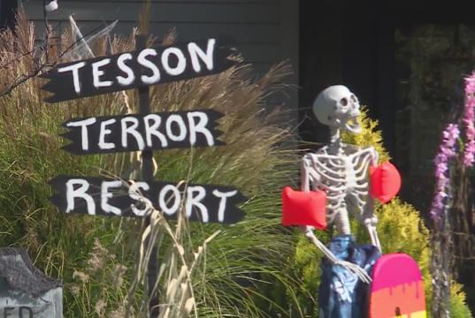 Picture for St. Louis County couple names Halloween display 'Tesson Terror Resort'