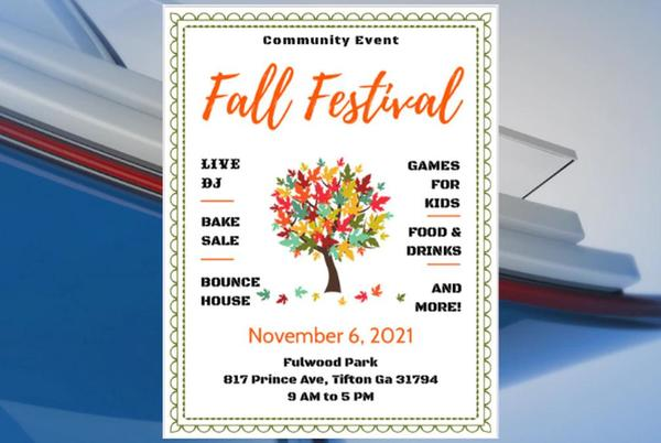 Picture for Fall festival scheduled for Tifton community