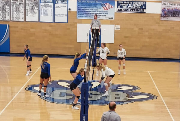 Picture for Knights Outlast Wolverines In A Volleyball Classic From Graceville