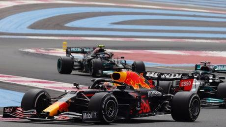 Picture for French Grand Prix LIVE: F1 latest updates as Max Verstappen passes Lewis Hamilton to retake lead