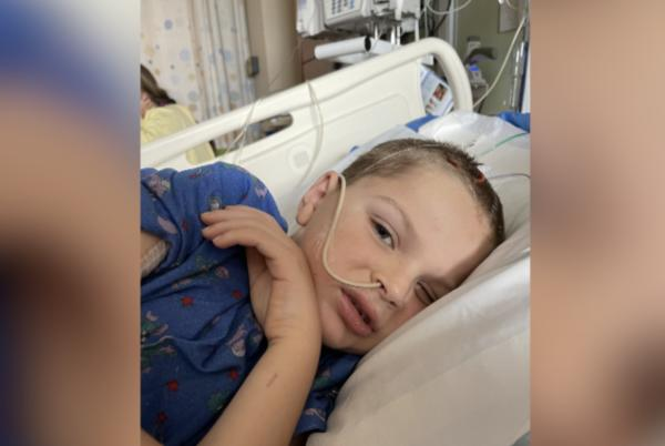 Picture for Six-year-old struck by projectile from lawn mower no longer in coma