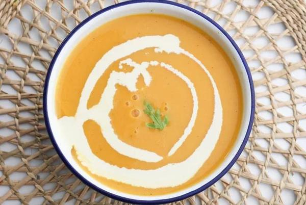 Picture for Savory Butternut Squash Soup Recipe