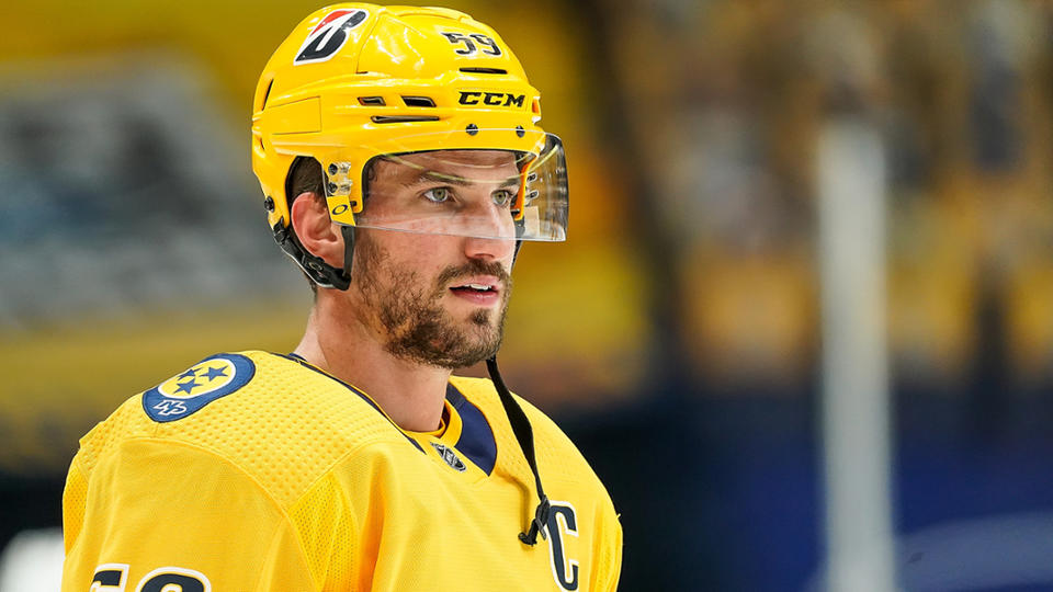 Picture for Roman Josi voted second best NHL Defenseman, poll