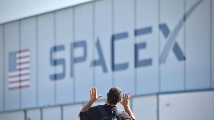 Cover for SpaceX Successfully Sends Four Amateurs into Space