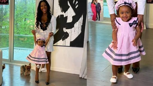 Kenya Moore Makes Fans Day With A New Sweet Photo Of Baby Brooklyn Daly She S A Joy News Break
