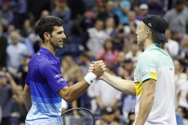 Picture for Tallon Griekspoor: Novak Djokovic was destroying me, I couldn't play tennis at all