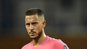 Picture for 'He's never been a top pro, he turned up FAT and he doesn't have Messi and Ronaldo's drive': Ex-Chelsea winger Damien Duff is SCATHING of Eden Hazard as he says Real Madrid winger may never return to top form