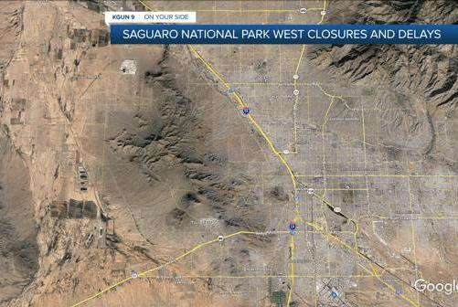 Picture for HBO filming causing Saguaro National Park closures
