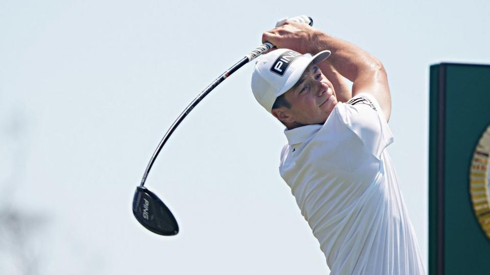 Picture for Viktor Hovland withdraws from U.S. Open after sand causes eye injury