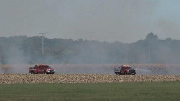 Cover for Video: Paris Fire District Responded To Field Fire -