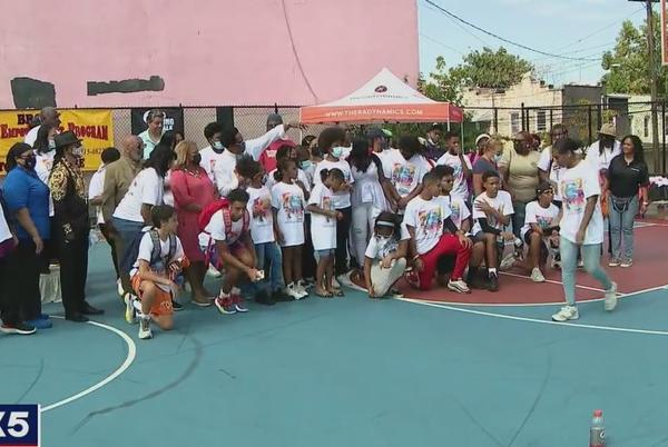 Picture for Melle Mel and Amadeus inspire Bronx kids at special event