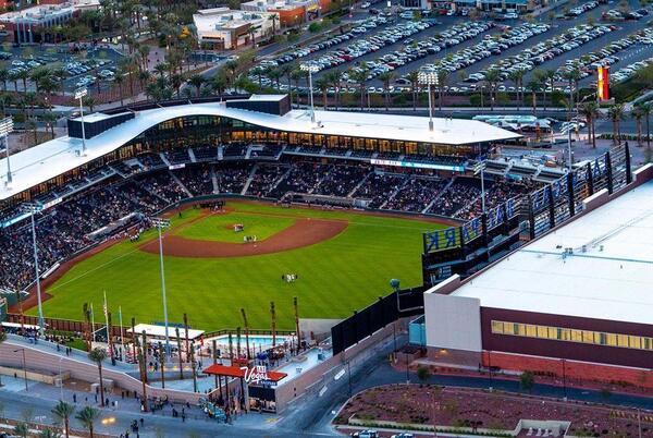Picture for Las Vegas Ballpark hosting charity 'Guns 'N' Hoses' baseball game on Sunday