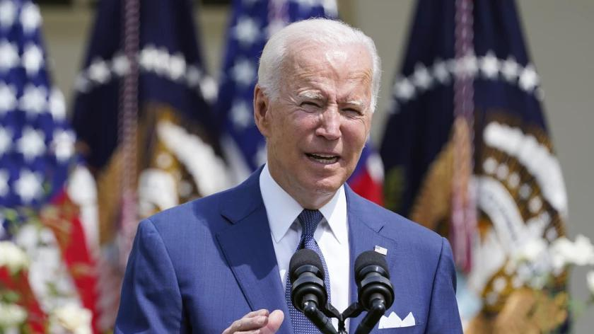 Picture for Biden's job approval dips among Californians, but support for his spending agenda is strong
