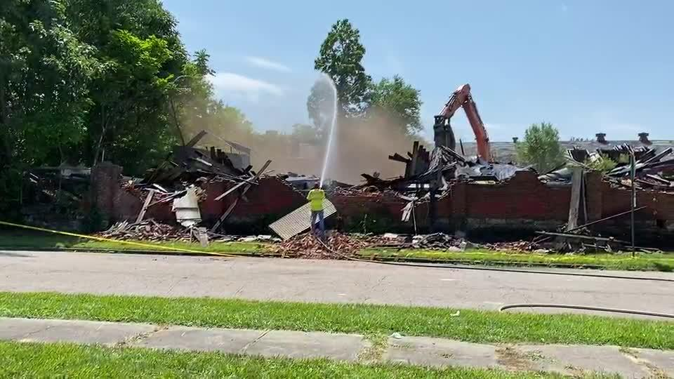 Picture for Springfield building collapses, prompting emergency demolition; property owner to foot the bill