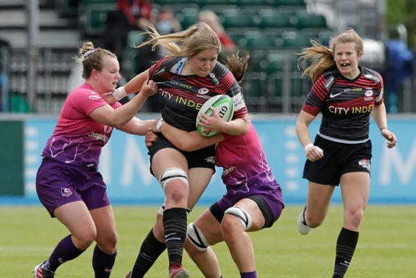 Picture for Poppy Cleall primed for Saracens milestone in mouth-watering Premier 15s clash with Loughborough