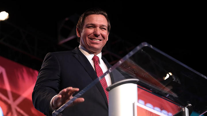 Cover for Do You Want Ron DeSantis to Run for President in 2024?