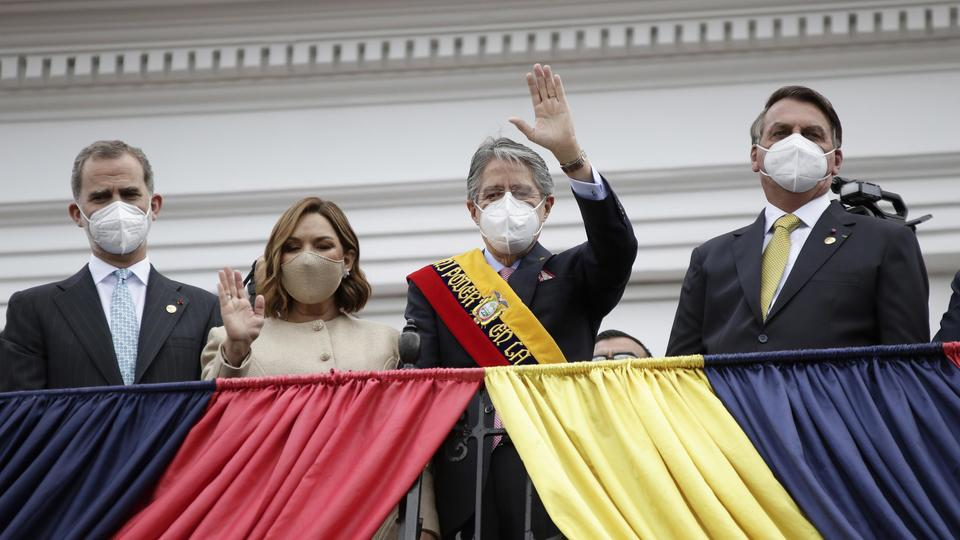 Picture for Former banker Guillermo Lasso becomes president in Ecuador