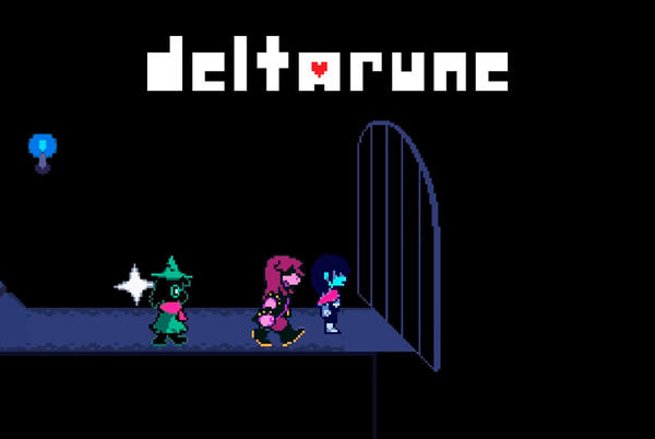 Picture for How one can face the name of the game boss of Deltarune Bankruptcy 1: Jevil