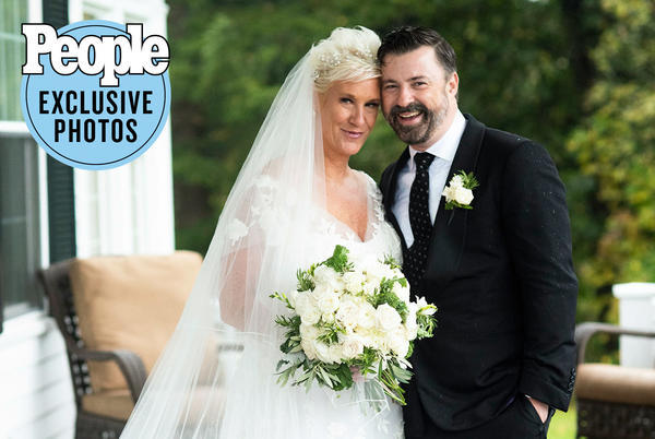 Picture for Food Network Star Anne Burrell Marries Stuart Claxton: 'We Feel So Much Love'