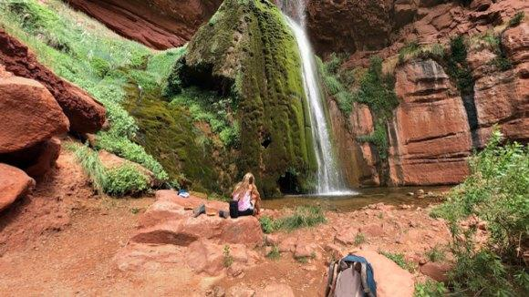 Picture for Swim Underneath A Waterfall At This Refreshing Natural Pool In Arizona