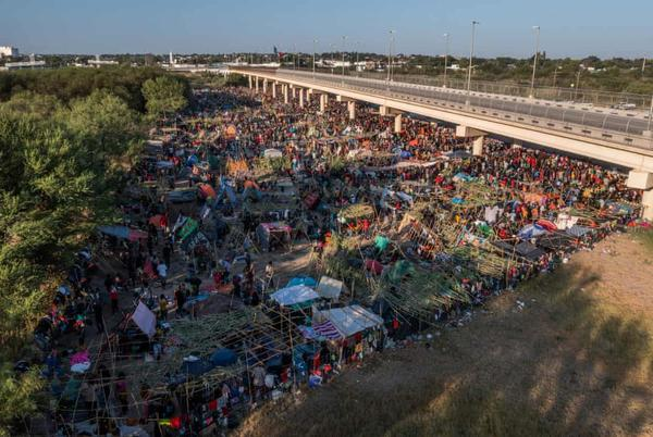Picture for Haitian migrants intend to remain at Texas border despite plan to expel them