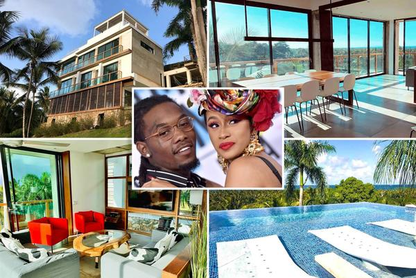 Picture for Inside Cardi B's new Dominican Republic mansion gifted by Offset for her birthday