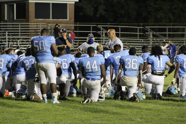 Picture for After two-week hiatus, Halifax County Blue Comets make a return to the field for homecoming game