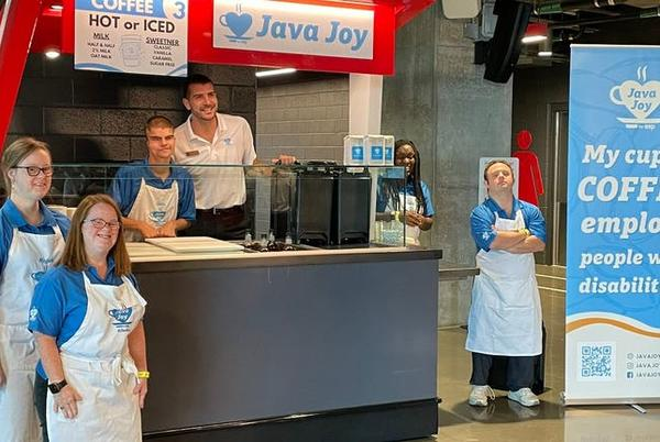 Picture for Java Joy serves coffee, empowers adults at Mercedes-Benz Stadium