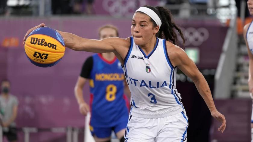 Picture for WNBA stars helping fuel 3-on-3 basketball's golden moment in Olympics